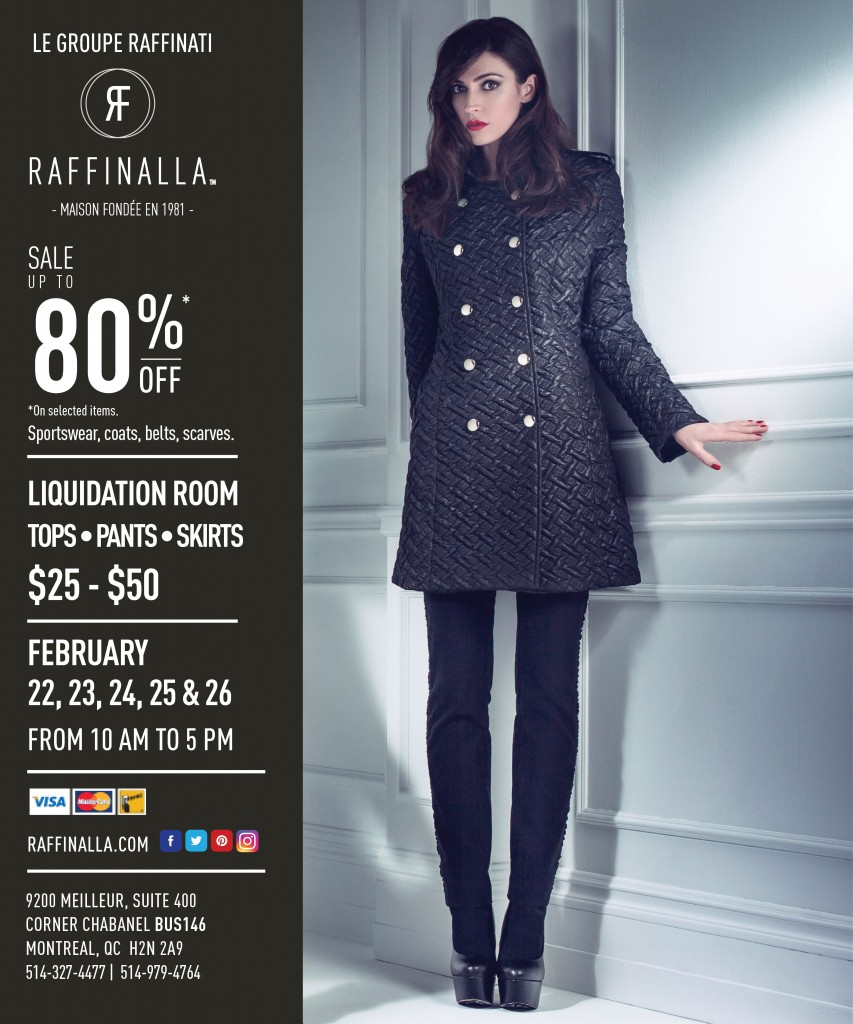 Raffinalla End of Season Sale